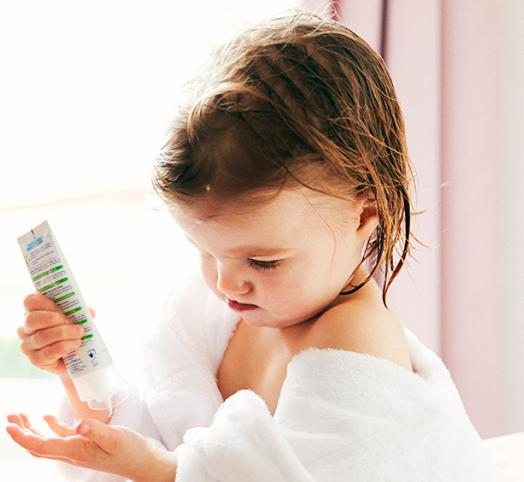 Skin hydration: Child Moisturizing Creams and Lotions